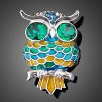 Брошь Owl
