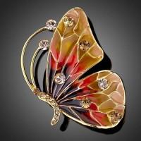 Брошь Butterfly