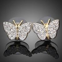 Серьги Butterfly