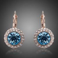 Серьги Blue crystal