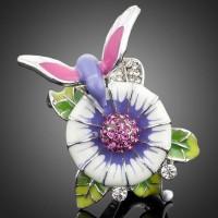 Кольцо Bird flowers