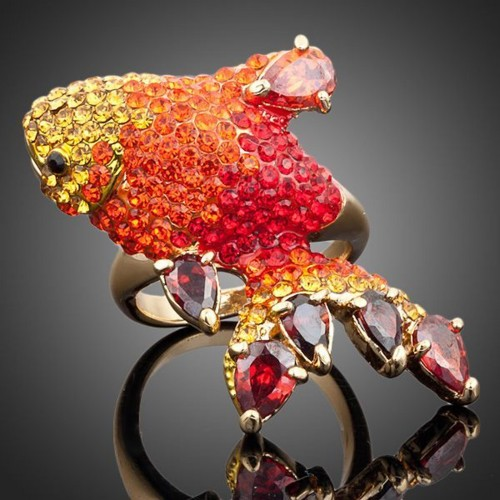 Кольцо Red Carpi