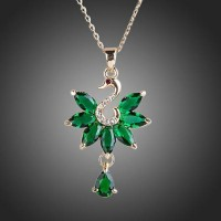Подвеска Emerald marquise